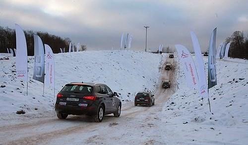 Audi Q5 в своей стихии