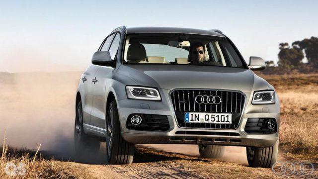 Видео тест драйв Audi Q5