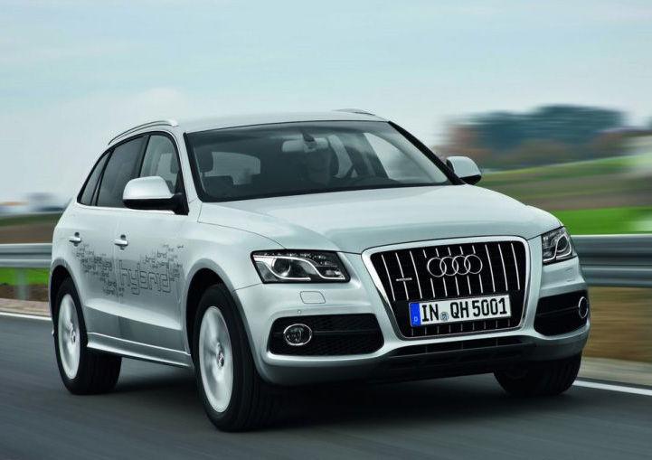 Гибридный Audi Q5