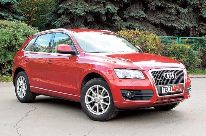 Без компромиссов Audi Q5