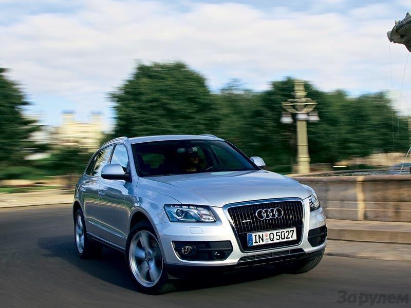 Audi Q5 Тест-драйв