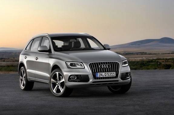 Фото обновленного Audi Q5 попали в сеть