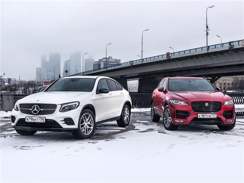 Audi Q5 ,Mercedes GLC и Jaguar F-PACE что лучше.
