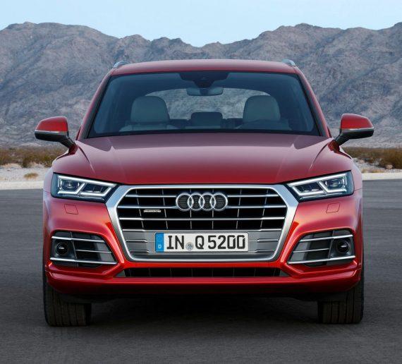Первые впечатления об новой Audi Q5.