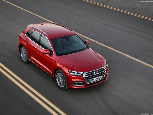 Тест-драйв Audi Q5 от infocar