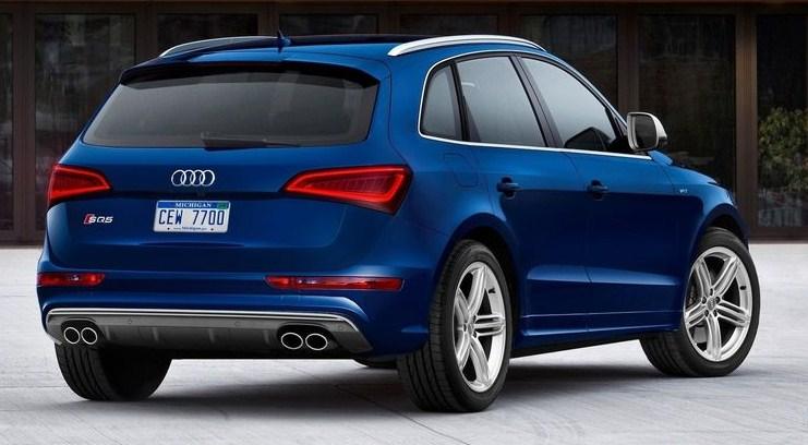 Audi выпустит SQ5 с бензиновым мотором