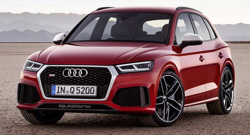 Новый кроссовер Audi RS Q5 наводит марафет