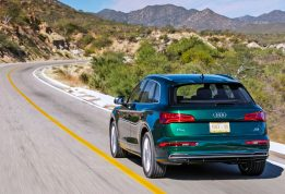 Первый тест новой Audi Q5 quattro ultra Часть1